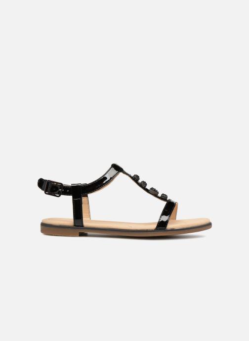 Sandales et nu-pieds Clarks Bay Blossom Noir vue derrière