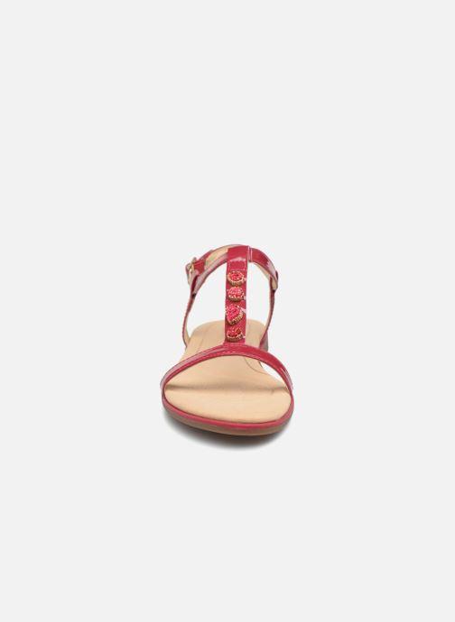 Sandales et nu-pieds Clarks Bay Blossom Rose vue portées chaussures