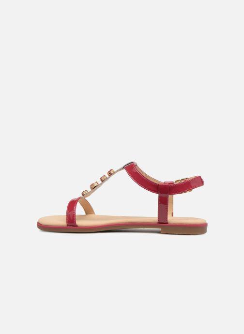 Sandales et nu-pieds Clarks Bay Blossom Rose vue face