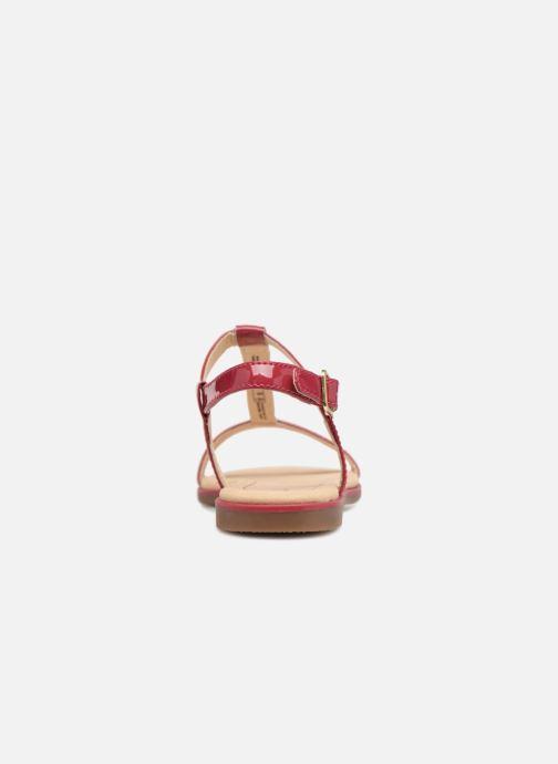 Sandales et nu-pieds Clarks Bay Blossom Rose vue droite