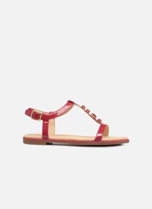 Sandales et nu-pieds Clarks Bay Blossom Rose vue derrière