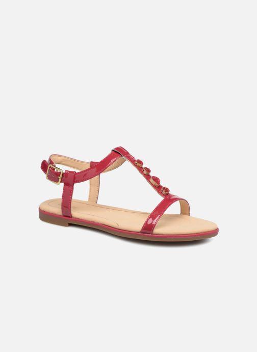 Sandales et nu-pieds Clarks Bay Blossom Rose vue détail/paire
