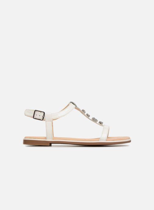 Sandales et nu-pieds Clarks Bay Blossom Blanc vue derrière