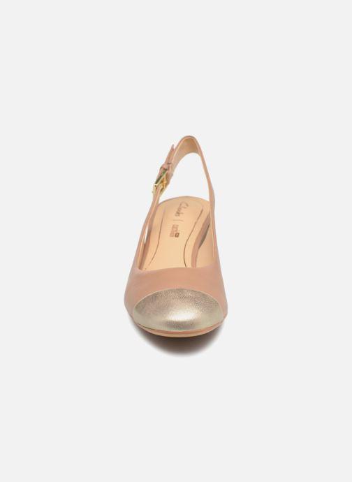 Escarpins Clarks Orabella Meg Rose vue portées chaussures