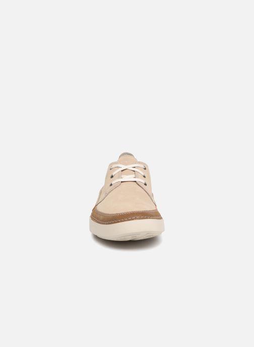 Lace-up shoes Clarks Gosler Edge Beige model view
