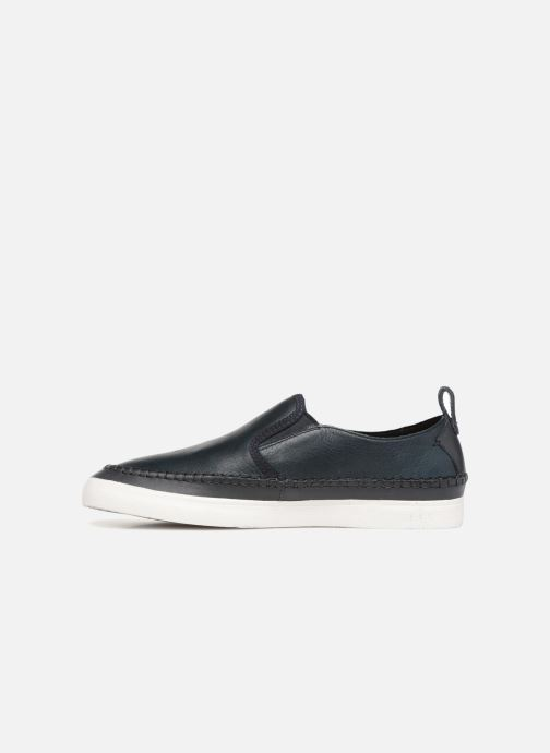 Trainers Clarks Kessell Slip Blue front view