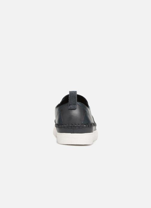 Sneakers Clarks Kessell Slip Blauw rechts