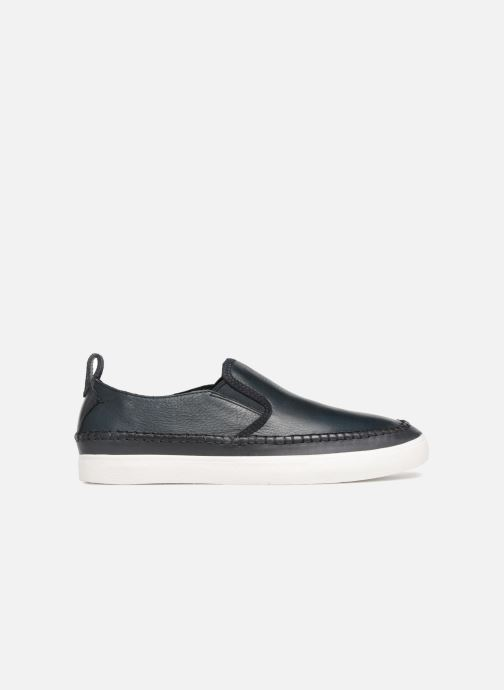 Trainers Clarks Kessell Slip Blue back view
