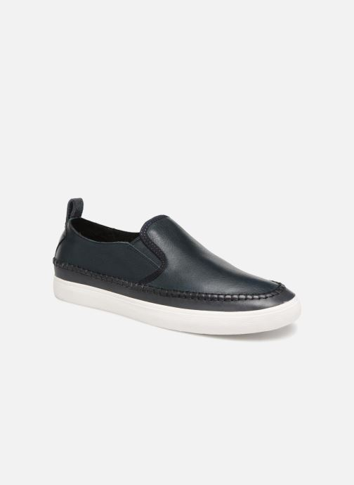 Trainers Clarks Kessell Slip Blue detailed view/ Pair view
