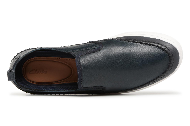Clarks Slip Clarks Slip Leather Kessell Navy Navy Kessell XiOPkZTu
