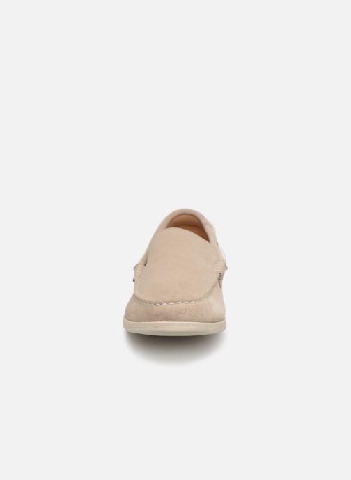 Loafers Clarks Morven Sun Beige model view