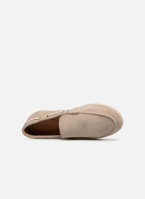 Loafers Clarks Morven Sun Beige view from the left