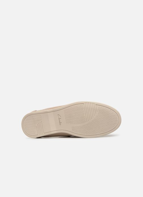 Loafers Clarks Morven Sun Beige view from above