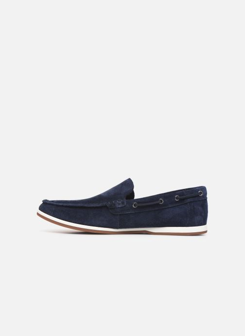 Loafers Clarks Morven Sun Blue front view