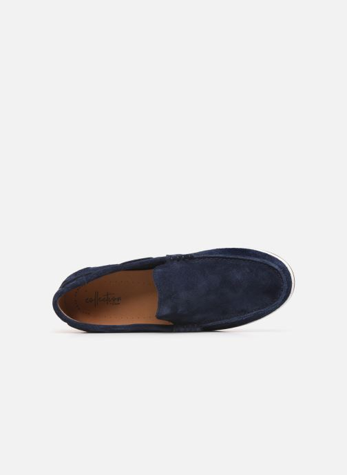 Loafers Clarks Morven Sun Blue view from the left