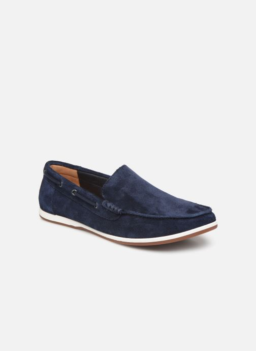 Loafers Clarks Morven Sun Blue detailed view/ Pair view