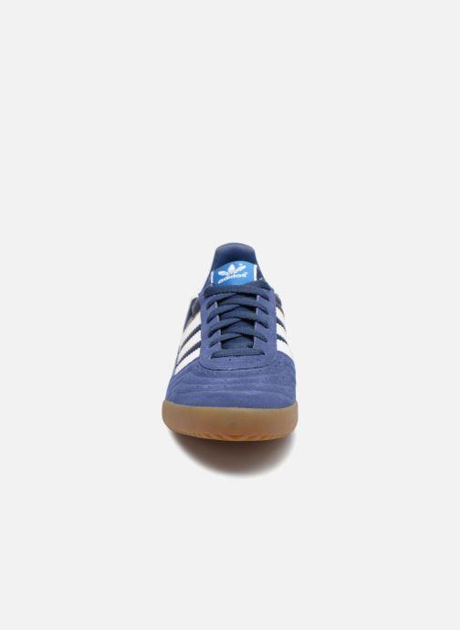 Sneaker adidas originals Indoor Super blau schuhe getragen