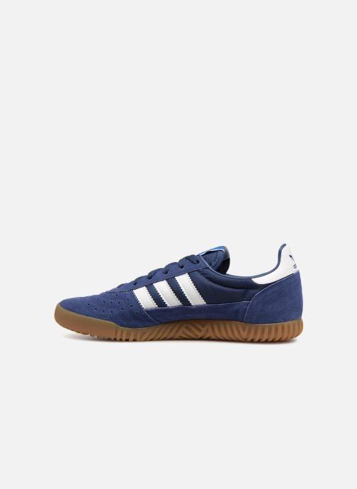 Sneaker adidas originals Indoor Super blau ansicht von vorne