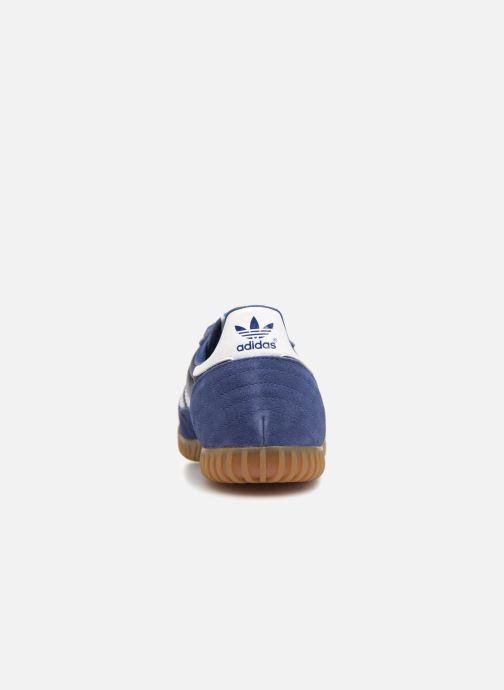 Sneaker adidas originals Indoor Super blau ansicht von rechts