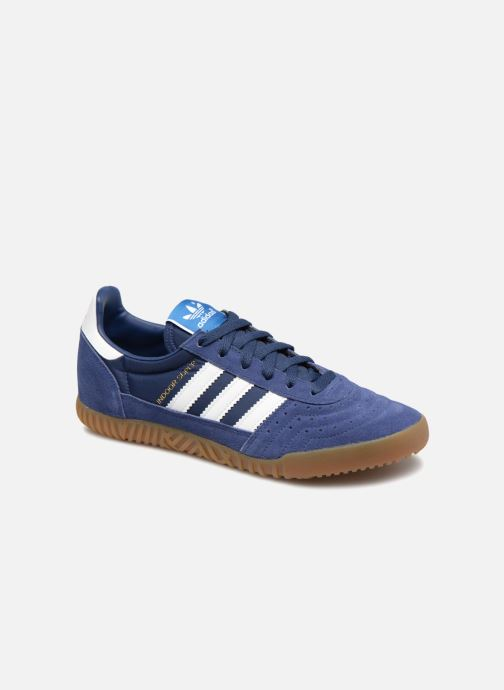 Trainers adidas originals Indoor Super Blue detailed view/ Pair view