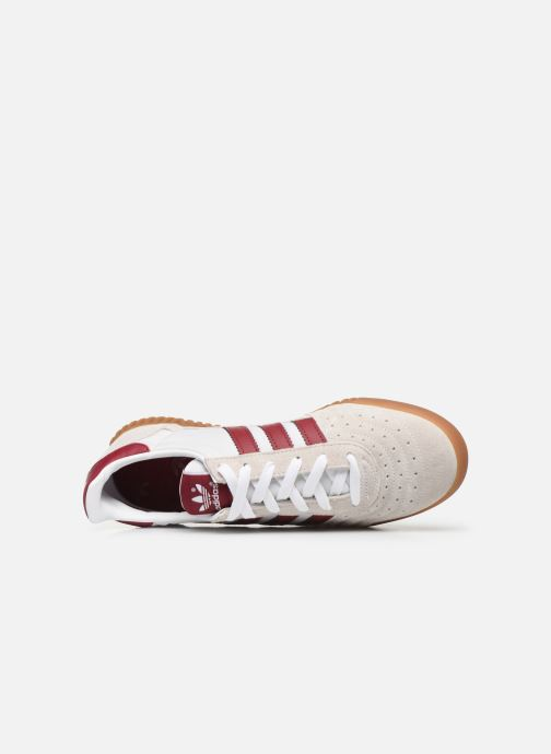 Baskets adidas originals Indoor Super Beige vue gauche