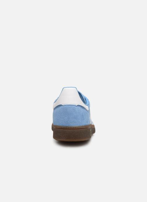 Baskets adidas originals Handball Spezial Bleu vue droite