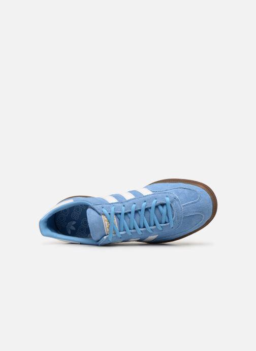 Sneaker adidas originals Handball Spezial blau ansicht von links
