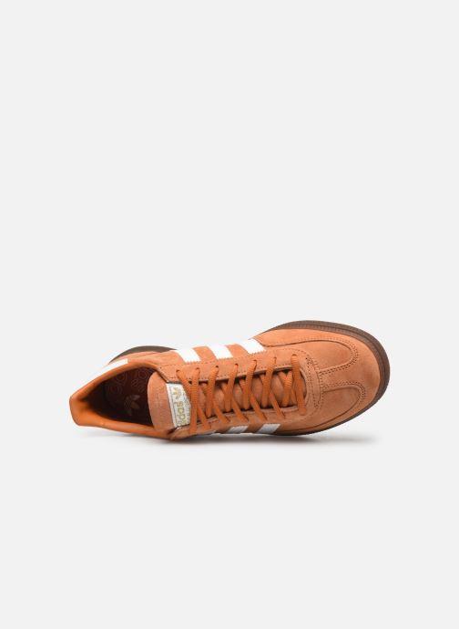 Baskets adidas originals Handball Spezial Orange vue gauche