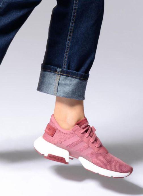 Sneaker adidas originals Pod-S3.1 W rosa ansicht von unten / tasche getragen