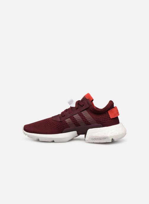 Sneakers adidas originals Pod-S3.1 W Vinröd bild från framsidan