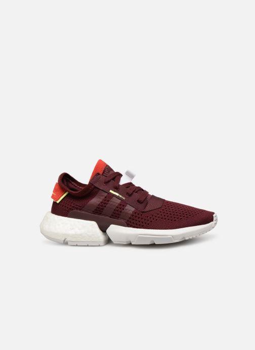 Sneakers adidas originals Pod-S3.1 W Vinröd bild från baksidan