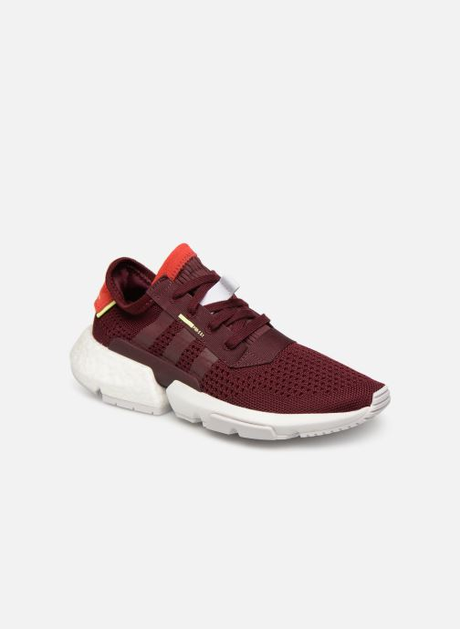 Baskets adidas originals Pod-S3.1 W Bordeaux vue détail/paire