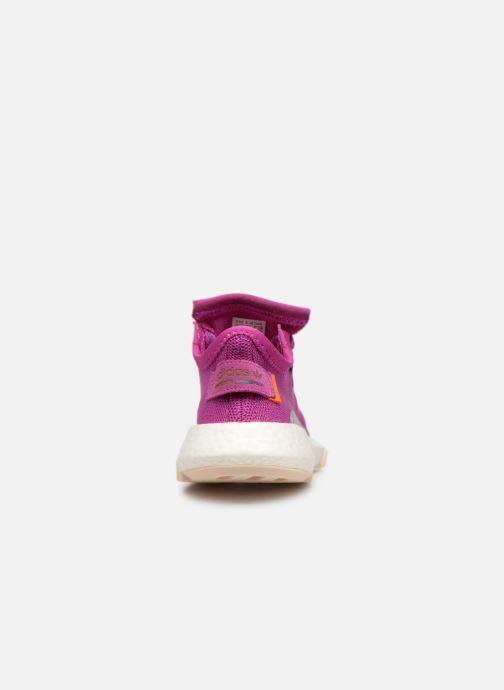 Baskets adidas originals Pod-S3.1 W Violet vue droite