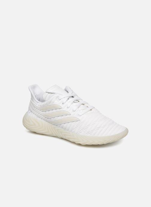 Baskets adidas originals Sobakov Blanc vue détail/paire