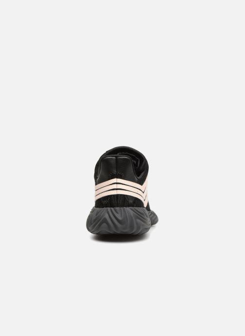 Baskets adidas originals Sobakov Noir vue droite