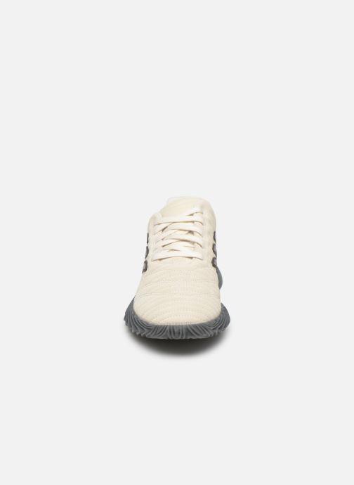 Sneaker adidas originals Sobakov weiß schuhe getragen