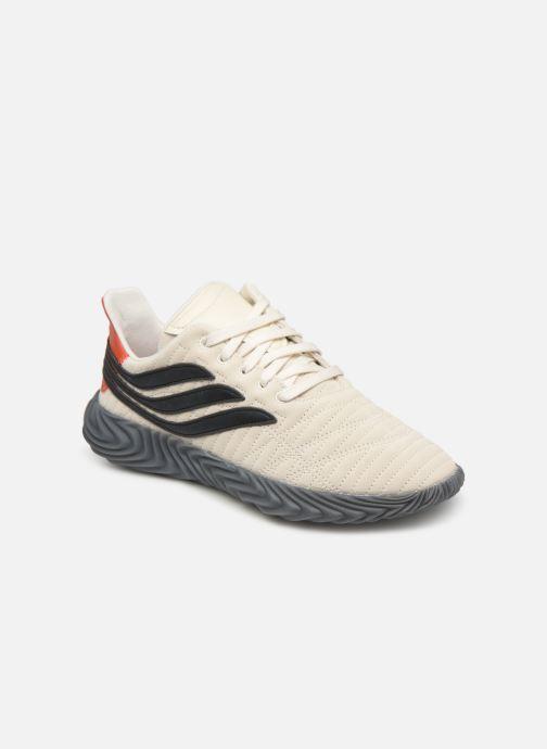 new arrival de54c c037a Sneakers adidas originals Sobakov Hvid detaljeret billede af skoene