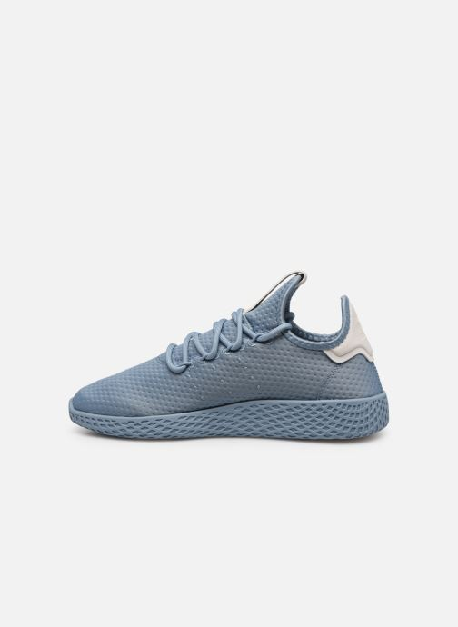 Deportivas adidas originals Pharrell Williams Tennis Hu W Azul vista de frente