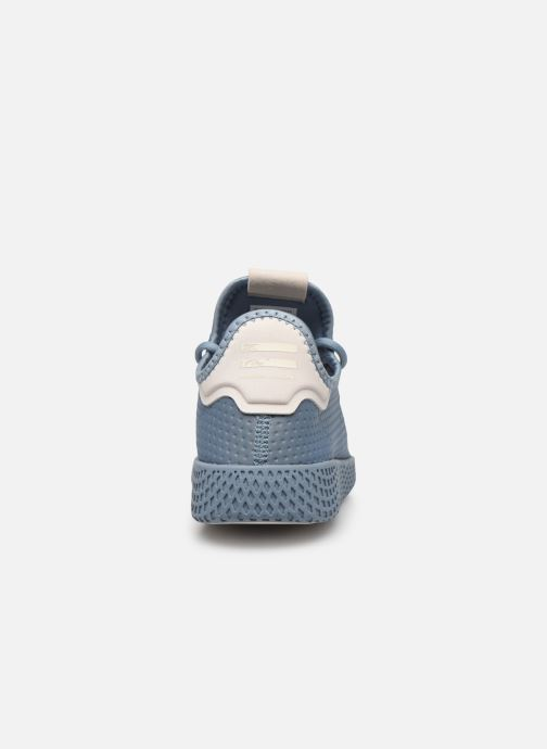 Sneakers adidas originals Pharrell Williams Tennis Hu W Azzurro immagine destra