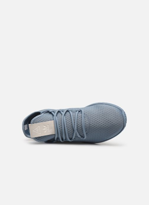 Sneakers adidas originals Pharrell Williams Tennis Hu W Azzurro immagine sinistra