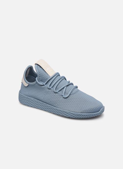 Deportivas adidas originals Pharrell Williams Tennis Hu W Azul vista de detalle / par