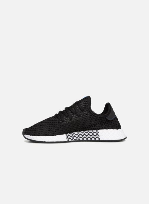 Sneaker adidas originals Deerupt schwarz ansicht von vorne
