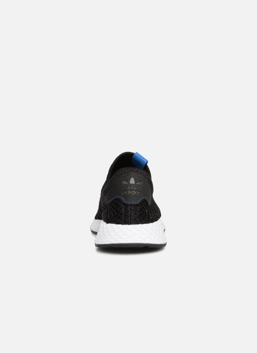 Sneaker adidas originals Deerupt schwarz ansicht von rechts