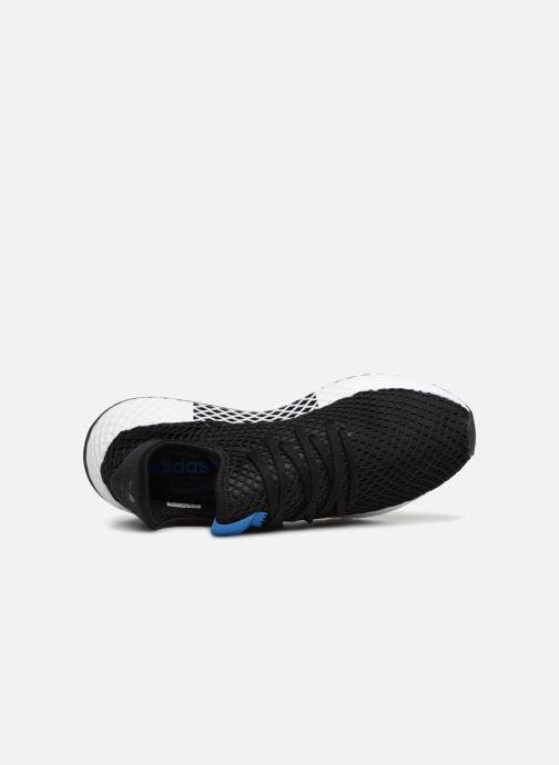 Sneaker adidas originals Deerupt schwarz ansicht von links