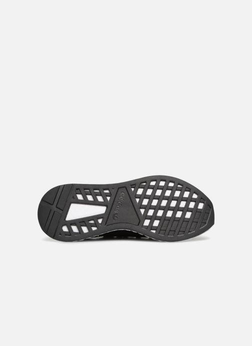 Sneaker adidas originals Deerupt schwarz ansicht von oben