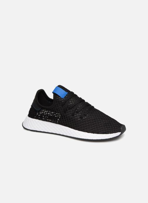 Baskets adidas originals Deerupt Noir vue détail/paire
