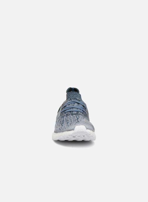 Chaussures de sport adidas performance Ultraboost Uncaged Parley Gris vue portées chaussures