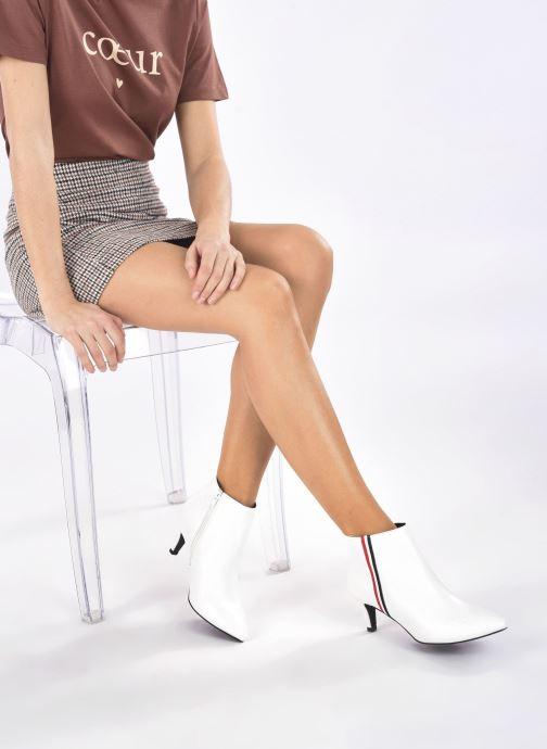 Bottines et boots I Love Shoes Thipy Blanc vue bas / vue portée sac