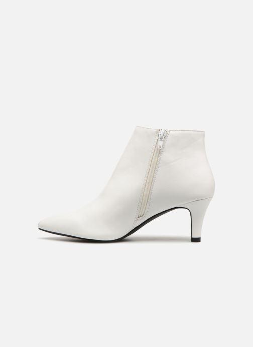 Bottines et boots I Love Shoes Thipy Blanc vue face