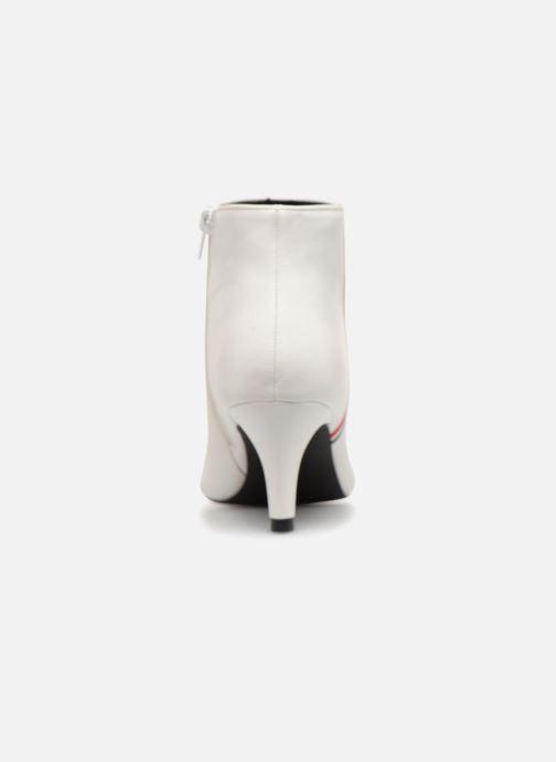 Botines  I Love Shoes Thipy Blanco vista lateral derecha